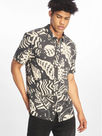 volcom-manner-hemd-scrap-floral-in-schwarz