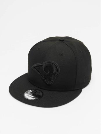 new-era-manner-frauen-snapback-cap-nfl-la-rams-9fifty-in-schwarz
