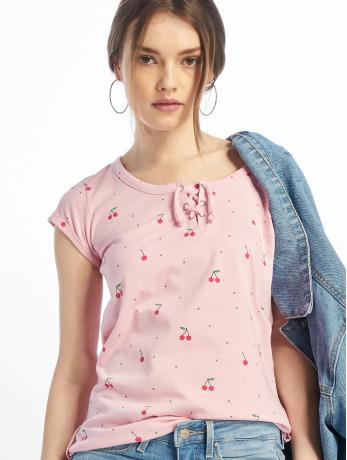 stitch-soul-frauen-t-shirt-chery-in-rosa
