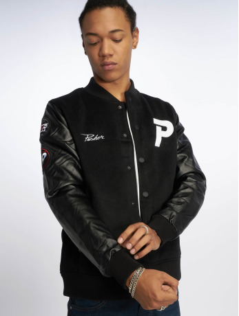 pusher-apparel-manner-ubergangsjacke-varsity-in-schwarz