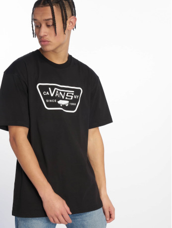 vans-manner-t-shirt-full-patch-in-schwarz