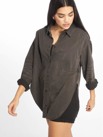 cheap-monday-frauen-bluse-obscure-crinkle-in-schwarz