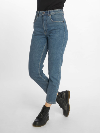 cheap-monday-frauen-straight-fit-jeans-donna-norm-core-in-blau