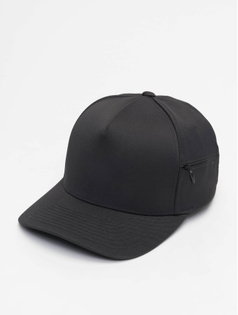 flexfit-manner-frauen-snapback-cap-110-pocket-in-schwarz