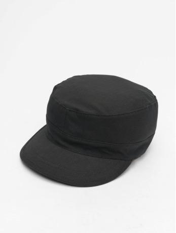 flexfit-manner-frauen-snapback-cap-top-gun-ripstop-in-schwarz