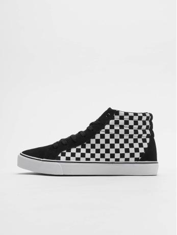 urban-classics-manner-frauen-sneaker-printed-high-canvas-in-schwarz
