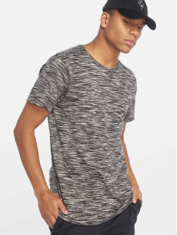 urban-classics-manner-t-shirt-striped-melange-in-schwarz