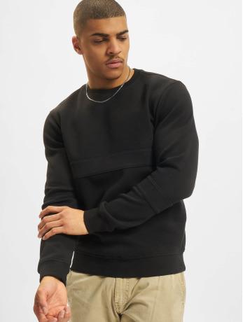 urban-classics-manner-pullover-heavy-pique-in-schwarz