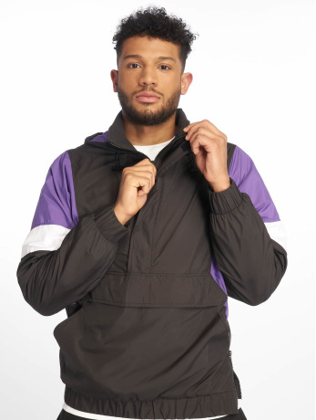 urban-classics-manner-ubergangsjacke-light-3-tone-pull-over-in-schwarz