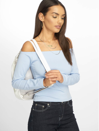 na-kd-frauen-longsleeve-cropped-off-shoulder-in-blau, 19.99 EUR @ defshop-de