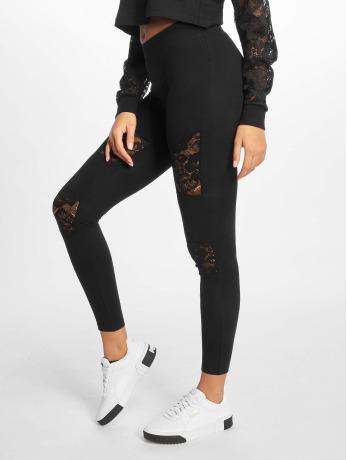 urban-classics-frauen-legging-laces-inset-in-schwarz