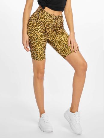 urban-classics-frauen-shorts-cycle-pattern-in-braun