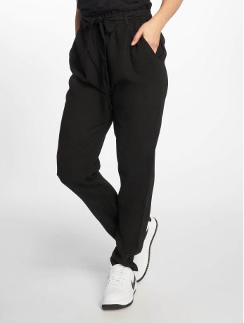 na-kd-frauen-chino-tied-waist-in-schwarz