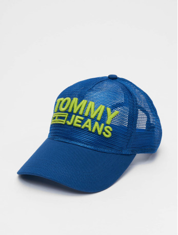 tommy-jeans-manner-trucker-cap-basic-in-blau