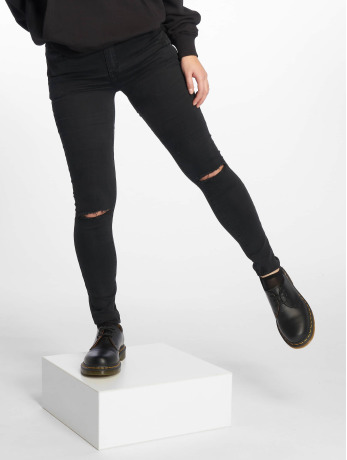 sixth-june-frauen-skinny-jeans-desi-in-schwarz