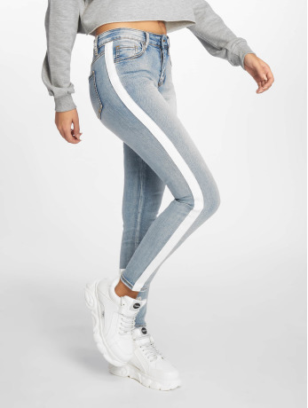 sixth-june-frauen-skinny-jeans-in-blau