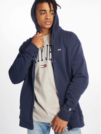 tommy-jeans-manner-zip-hoodie-classics-in-blau