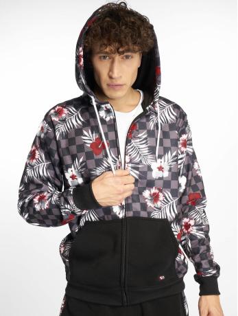 southpole-manner-zip-hoodie-floral-checker-fleece-in-bunt