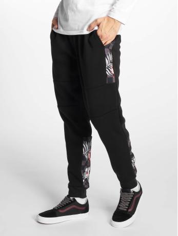 southpole-manner-jogginghose-floral-in-schwarz