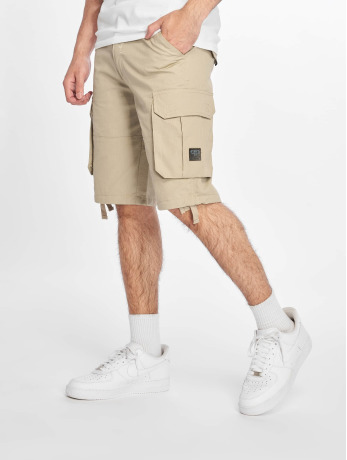 pelle-pelle-manner-shorts-basic-cargo-in-khaki