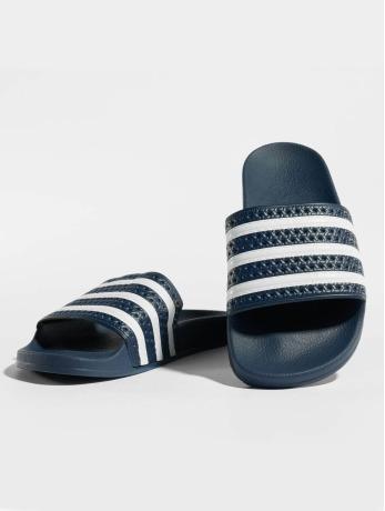 Adidas Adilette heren sportschoen EU 44 2-3 UK 10 donker blauw