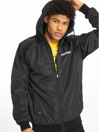 pelle-pelle-manner-ubergangsjacke-underground-hooded-in-schwarz