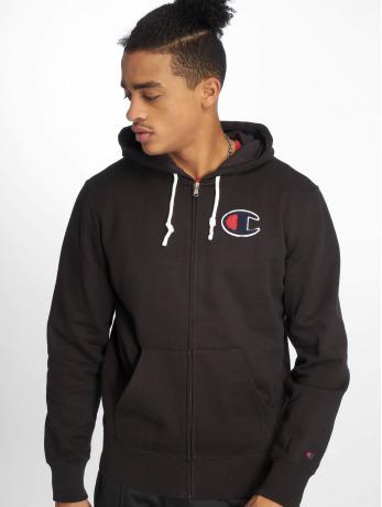 champion-rochester-manner-zip-hoodie-rochester-in-schwarz