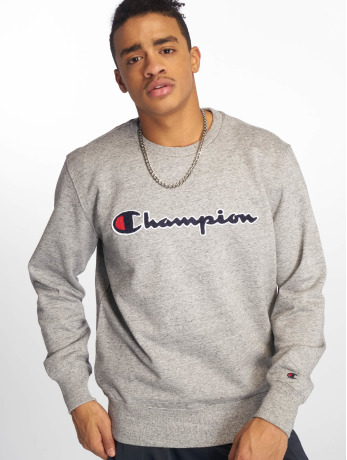 champion-rochester-manner-pullover-crewneck-in-grau