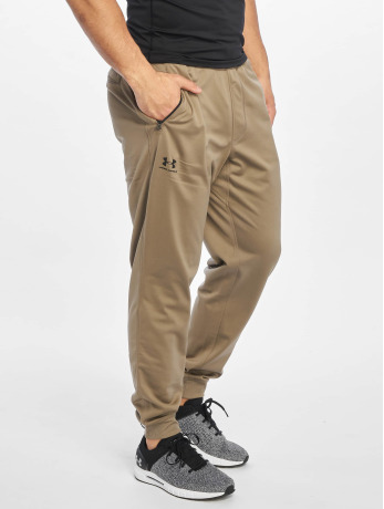 under-armour-manner-jogger-pants-sportstyle-tricot-in-braun