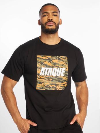 ataque-manner-t-shirt-palmira-in-schwarz
