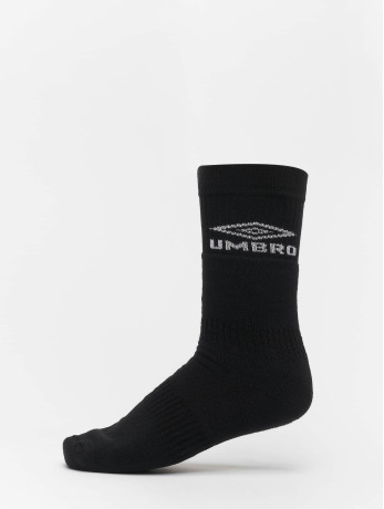 umbro-manner-frauen-socken-classico-tube-in-schwarz