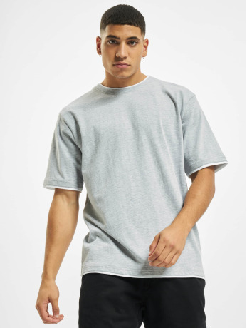 def-manner-t-shirt-basic-in-grau