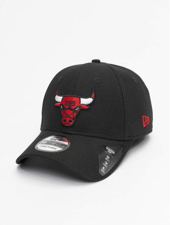 new-era-manner-frauen-flexfitted-cap-nba-chicago-bulls-diamond-era-39thirty-in-schwarz