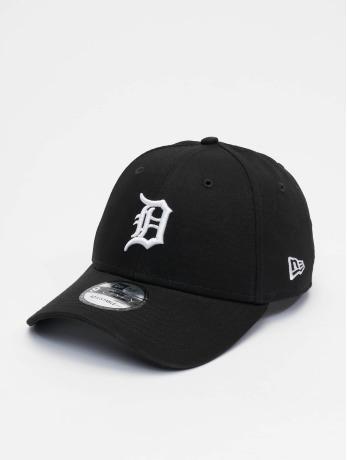 new-era-manner-frauen-snapback-cap-mlb-detroit-tigers-league-essential-9forty-in-schwarz
