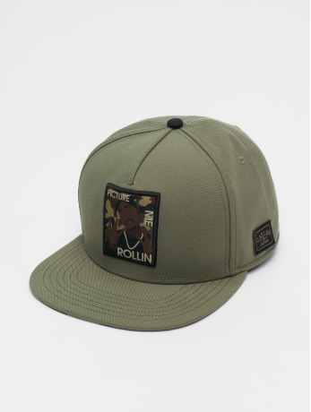 cayler-sons-manner-frauen-snapback-cap-wi-2pac-rollin-in-olive