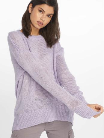 new-look-frauen-pullover-jumper-in-violet