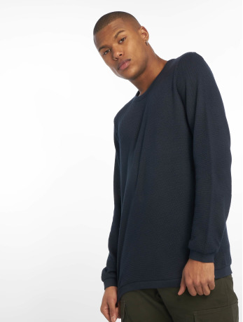 new-look-manner-pullover-textured-in-blau