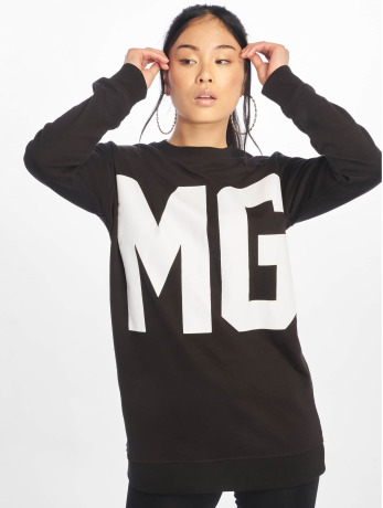 missguided-frauen-pullover-mg-sport-in-schwarz