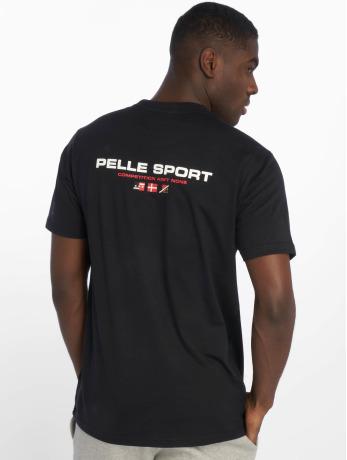 pelle-pelle-manner-t-shirt-double-take-in-schwarz