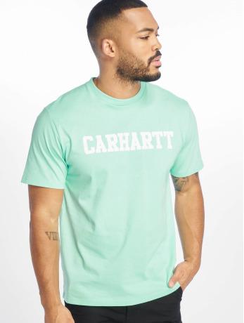 carhartt-wip-manner-t-shirt-college-in-grun