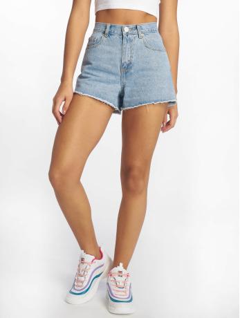 glamorous-frauen-shorts-ladies-in-blau