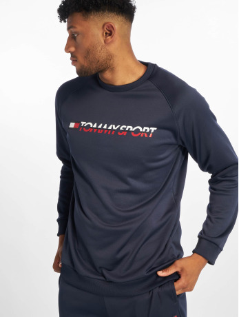 tommy-sport-manner-pullover-logo-in-blau
