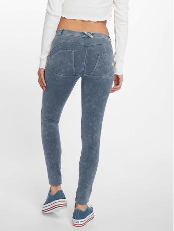 freddy-frauen-skinny-jeans-regular-waist-in-blau