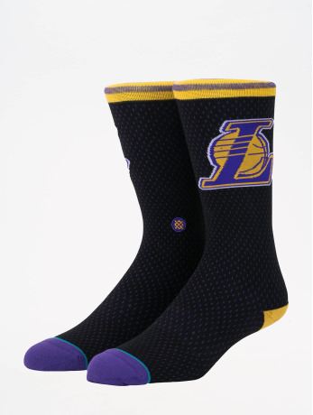stance-manner-socken-nba-on-court-collection-lakers-jersey-in-schwarz