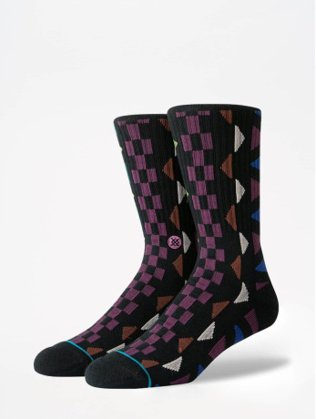 stance-manner-socken-foundation-aztec-in-schwarz