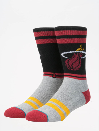 stance-manner-socken-nba-on-court-collection-city-gym-heat-in-rot