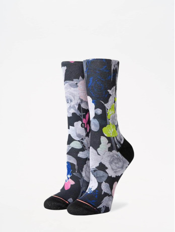 stance-frauen-socken-foundation-splendid-crew-in-schwarz