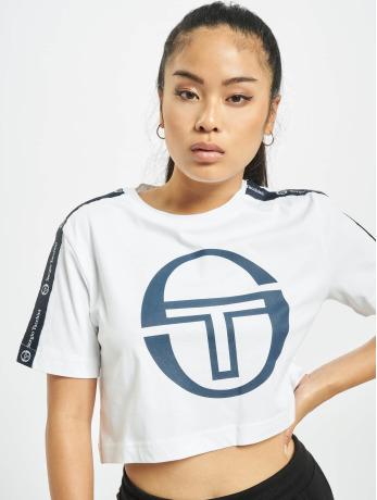 sergio-tacchini-frauen-t-shirt-romina-cropped-logo-tape-in-wei-