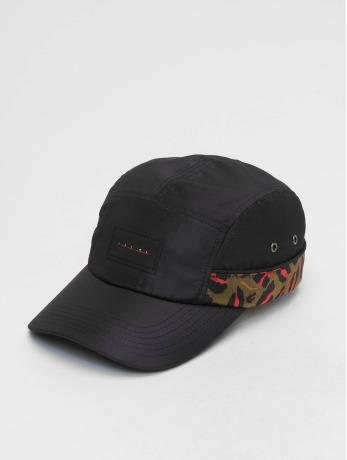 grimey-wear-manner-frauen-5-panel-caps-midnight-leopard-in-schwarz