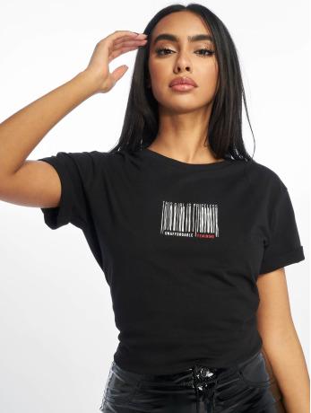 na-kd-frauen-t-shirt-priceless-in-schwarz